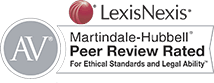 LexisNexis - AV Peer Review Rated